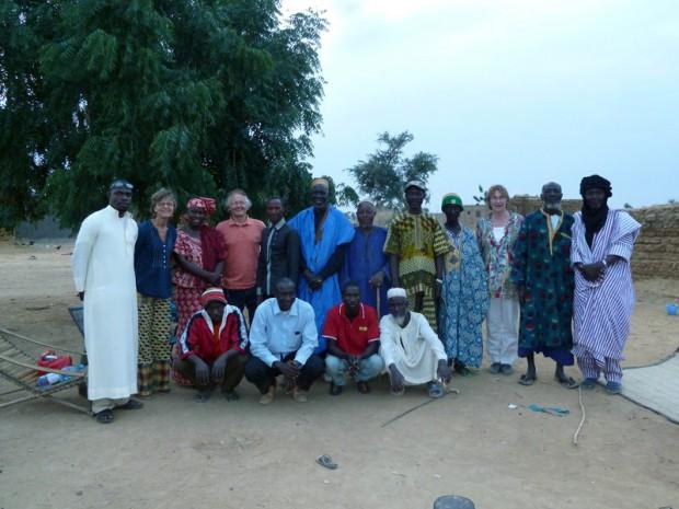Bestuur van V!VE op bezoek in Dialangou